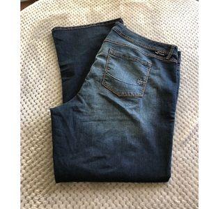Torrid Source of Wisdom Bootcut Jeans Size 22